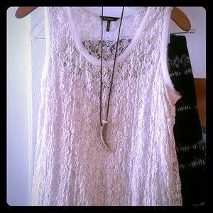 Dresses & Skirts - STRETCH LACE BOHO DRESS